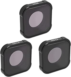 QKOO ND8/16/32 Filters for GoPro Hero 9 Black ND Filter Set Neutral Density (Directly Replace The Standard Protective Lens...