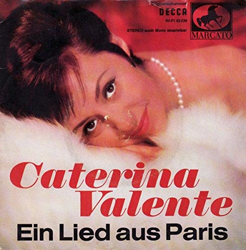 Caterina Valente - Ein Lied Aus Paris - Decca - 42 239, Marcato - 42 239