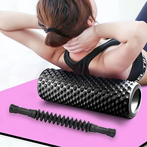 Masajeador de barra de entrenamiento físico para oficina(black)