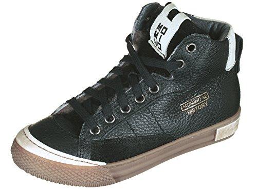 Momino 2123M Hohe Sneakers Chucks, Schwarz (50592 Nero), 31