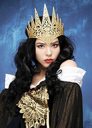 Womens Fantasy Reine Gold Crown bandeau
