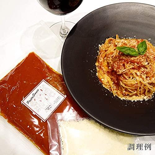 パスタソース 虎ノ門イタリアン タニーチャ 特製 トマトソース グラナバダーノチーズパウダー付き(2人前・380g)
