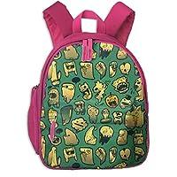 漫画のパターン 迷子防止リュック バックパック 子供用 子ども用バッグ ランドセル 高品質 レッスンバッグ 旅行 おでかけ 学用品 子供の贈り物