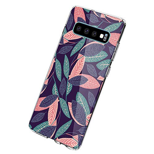 Hoes case compatibel met Samsung Galaxy S10 telefoonhoes, Galaxy S10 Plus beschermhoes ultradun transparant silicone soft TPU crystal clear bump beschermhoes voor Samsung Galaxy S10e Samsung Galaxy S10 Plus 6