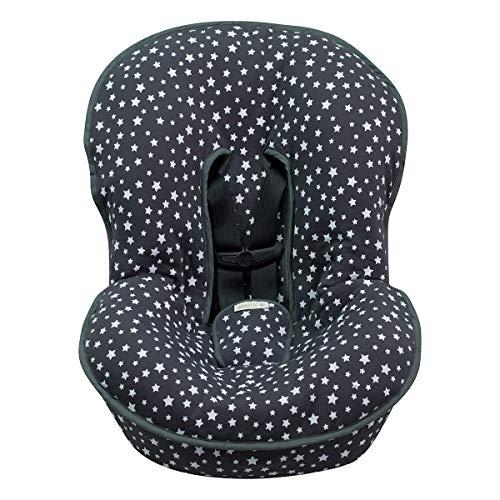 JANABEBE Funda Universal acolchada para Portabebe y silla de coche grupo 0 (WINTER SKY)