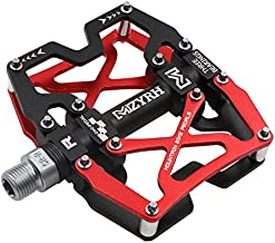 MZYRH Mountain Bike Pedals, Ultra Strong Colorful CNC Machined 9/16