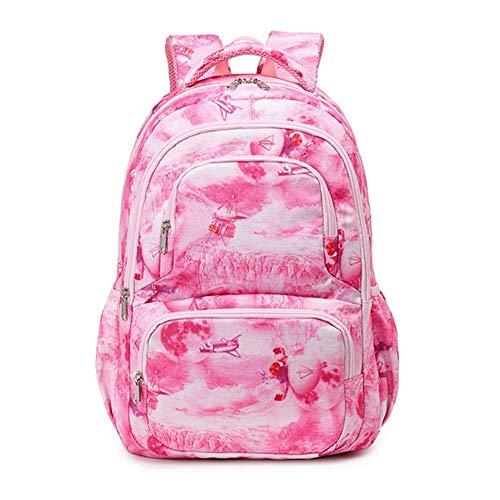 Mochilas de 1-3-6 años de edad para estudiantes de escuela primaria, mochilas masculinas, mochilas para niños de dibujos animados femeninos, reducen la carga en bolsas de escuelas pequeñas de los niño