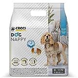Croci Diadema para La Higiene del Perro del Pañal del Perro 12 Pc Medium 1 Unidad 325 g