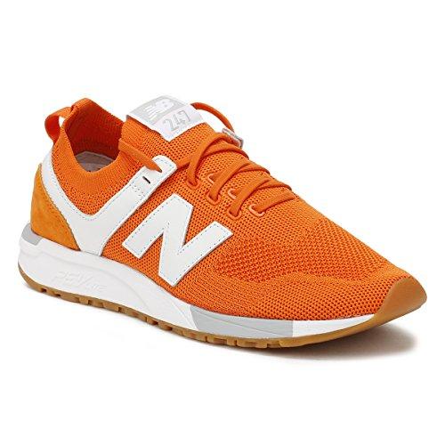 new balance hombres zapatillas naranjas