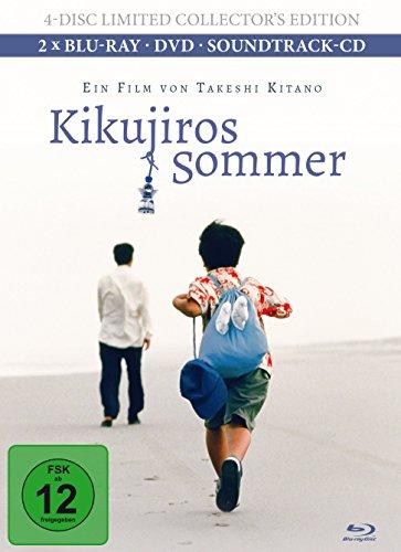Kikujiros Sommer (+ Bonus-DVD) (+ Bonus-Blu-ray) (+ Soundtrack-CD) [Limited Collector's Edition]