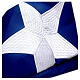 VSVO Texas Flag 3x5 Ft with Embroidered Stars, Sewn Stripes and Heavy Duty 300GSM Tough Spun Polyester for Outdoor Use TE State Flag