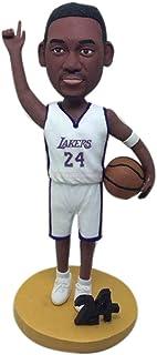 Basket personalizzati figurine Lakers regalo fidanzato Lakers Bobble Head Clay figurine Lakers regalo di Natale fidanzato ...