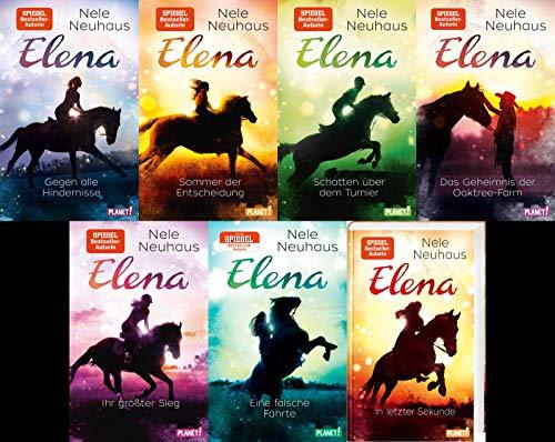 Elena - Ein Leben für Pferde Band 1-7 plus 1 exklusives Postkartenset