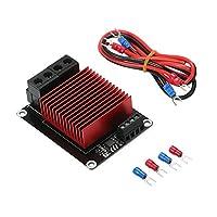 暖房コントローラー,Benkeg 3Dプリンター温床暖房コントローラー高電流負荷MOSモジュールMOSFETボードが30Aを超え、CR-10 Ender-3 Prusa TEVO 3Dプリンターに対応
