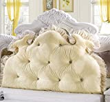 Respaldo de apoyo almohada almohada cojín gran refuerzo triangular cuña almohada grande tapizado cabecero rellenado triangular cuña cojín lectura respaldo almohada cama respaldo posicionamiento de apo