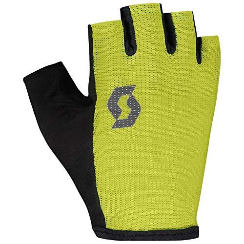 Scott Aspect Sport Gel - Guantes cortos para bicicleta (talla S, 8), color amarillo y negro