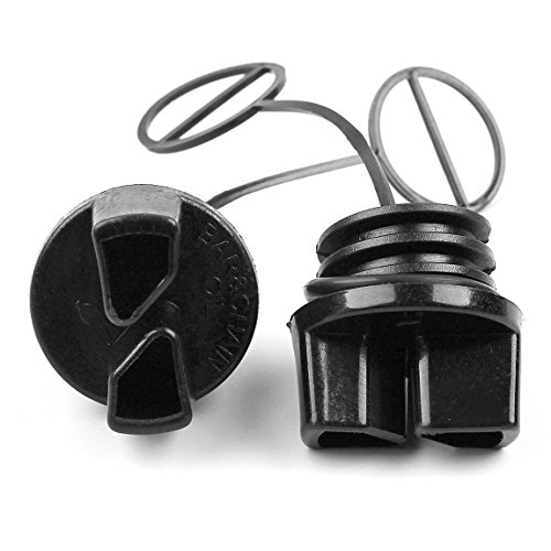 Haishine 2Pcs Oil Filter Cap for Partner 350 351 370 371 390 420 McCulloch MAC CAT 335 338 435 440 kettingzaag vervangende onderdelen nieuw