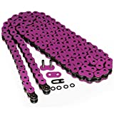 Caltric Pink O-Ring Drive Chain Compatible With...