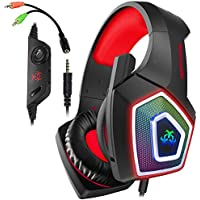 Aiboondee Xbox One Headset with Mic LED Light
