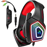 Micolindun Gaming Headset for Xbox One, PS4,...