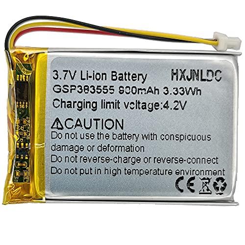 DC 3,7v gsp383555 900mah Battery Replacement para JBl Clip 2 y Garmin Pro 70 550 trashbreaker Pro 70 550 Receptor PT 10 TB 10 Entrenamiento de Perros