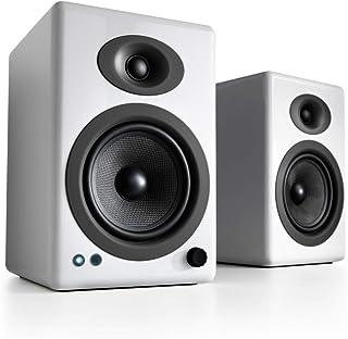 Audioengine A5 + klassisk 150W bokhyllehögtalare med strömanslutning  Skrivbordshögtalare   Inbyggd analog förstärkare   F...