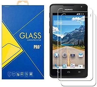 [2 Pack] Protector Cristal Vidrio Templado Huawei Ascend Y530 y 530 – Pantalla Antigolpes y Resistente al Rayado