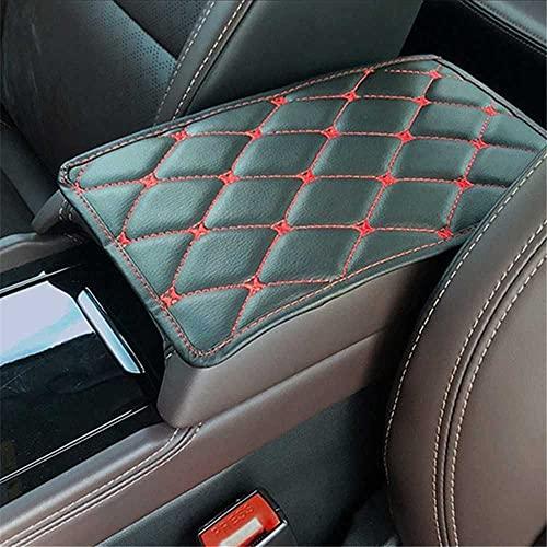 HJPOQZ Alfombrilla de Cuero para reposabrazos de Coche, Apta para el Extensor de Clip de cinturón de Seguridad de Coche Nissan Tiida Teana Skyline Juke X-Trail ALM