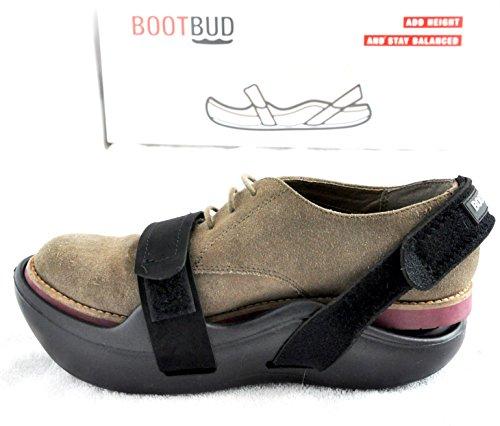 BootBud Shoe Lift (Medium, Black)