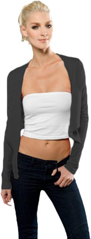 Blanks Women's Micro Jersey Long Sleeve Crop Wrap