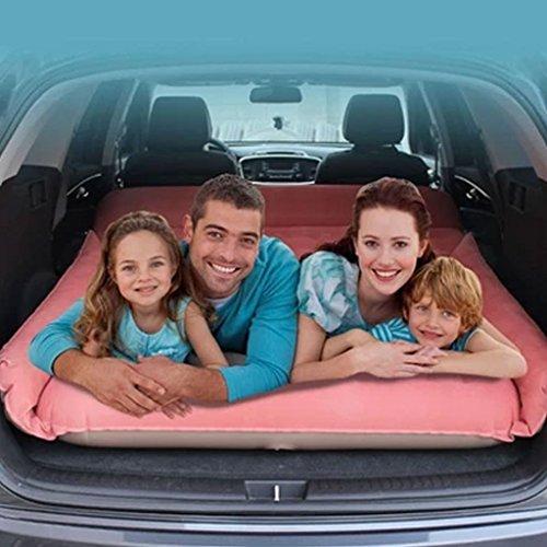 Jie KE Auto-opblaasbare bed-auto-shock-matras-auto-reisbed-auto met opblaasbare pomp comfortabele bank