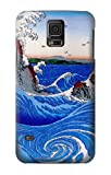 R2422 Awa Province Naruto Whirlpools Ando Hiroshige Case Cover For Samsung Galaxy S5