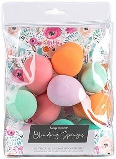 Jacky and Lauren Makeup Sponge Set 10 Piece Beauty Blender Sponge With Watercolor Floral Packaging
