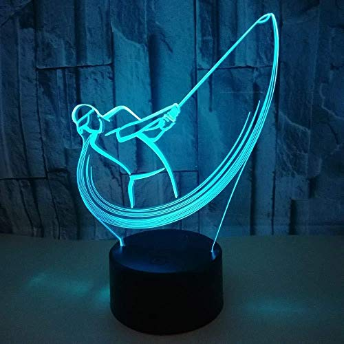3D illusie Night Light Bluetooth Smart Control 7 & 16 M Color Mobile App LED Vision Santa Balloons Bureau USB sfeer kleurrijk creatief cadeau