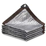 WBXZAL Malla sombreo de Papel de Aluminio Malla de ocultacion, con Orificio...