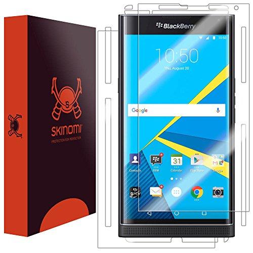 Skinomi TechSkin - Schutzfolie geeignet für BlackBerry PRIV - Vorder- & Rückseite