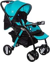 Mee Mee Baby Stroller Pram | Large Seating |Reversible Handle | Feeding Tray| Fully Rotating Wheels | for Newborn Baby/Kid...