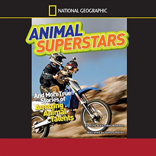National Geographic Kids Chapters audiobook cover art