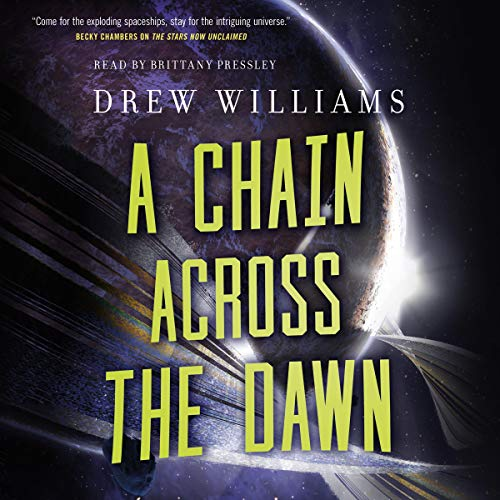 A Chain Across the Dawn audiobook cover art
