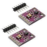 HiLetgo 2pcs APDS-9960 APDS9960 RGB Gesture Sensor Module Hand Gesture Recognition Moving Direction Ambient Light RGB Proximity Sensor Module Infrared Move Sensor