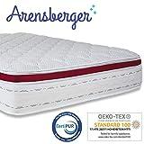 Arensberger ® Deluxx 9 Zonen Taschen-Federkern Matratze mit 3D-Memory Foam, Höhe 30 cm, 180 x 200 cm, Visco & Kaltschaum - 2