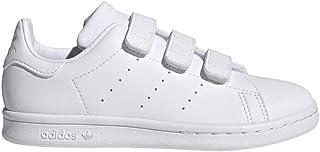 adidas Originals Stan Smith CF C, Baskets Mixte Enfant, Cloud White/Cloud White/Cloud White, 34 EU