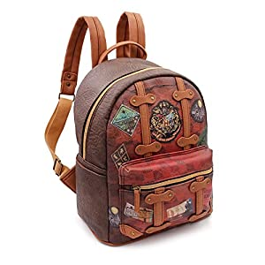 Karactermania Harry Potter Railway - Mochila Fashion, Marrón, 32 cm