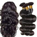 IFLY tissage cheveux humain ondulé Bresilien en Lot 7A Cheveux Naturel Brésilienne Tissage Onde Corporelle Cheveux Humain...
