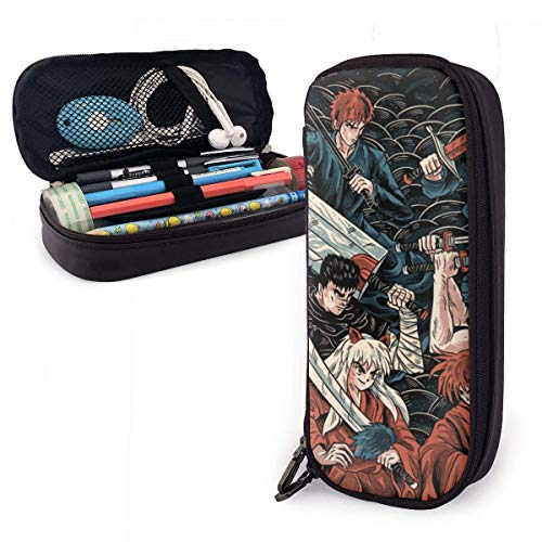 Federmäppchen Schulmäppchen für Schreibwaren Federmappe Mäppchen Schwertkämpfer Bleichen Drachen One Piece Berserker