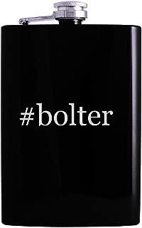 #bolter - 8oz Hashtag Hip Alcohol Drinking Flask, Black