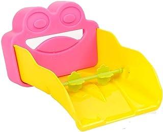 Chinashow シンク エクステンダ 幼児向け デザイン 安全 蛇口穴 カバー 靴下 スクリーン 注ぎ口 プロテクター 赤ちゃん、幼児、子供用 (ピンク/カエル)