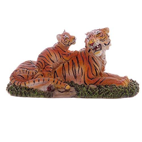Mère Tiger & Cub Figurine 9cm