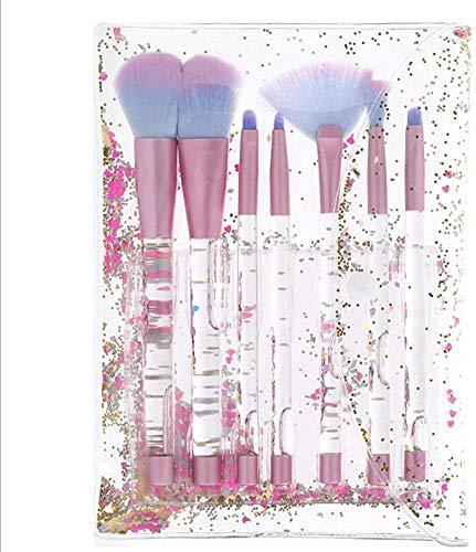 HZS Pinceau de Maquillage Set de Synthèse Professionnelle, Sourcils Lip Lip Ombre Pinceau Fond de Teint