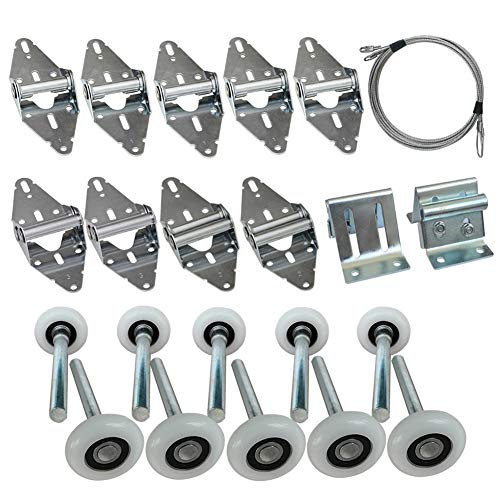 Surpass Garage Door Roller/Hinge/Top Bracket/Wire Rope (for 7' Height Doors)